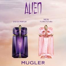 FREE sample of Thierry Mugler's Alien perfume.
