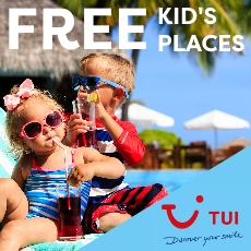 Free Kid's places with TUI