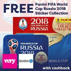 FREEPanini FIFA World Cup Russia 2018 Sticker Collection Starter Album