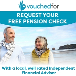 Free Pension Check with VouchedFor