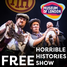 Free Horrible Histories Show at London Museum