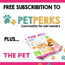 Free Subscription to Pet Perks