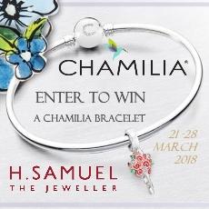 H.Samuel Win a Chamilia Bracelet