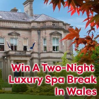 Win a Two Night luxury spa break in wales