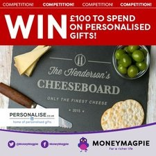 Win £100 to spend on personalised gifts