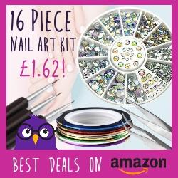 16 Nail art kit just £1.62