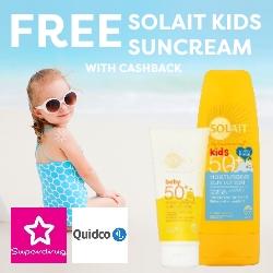 Free Kids Solait Suncream