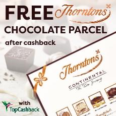 Free Thorntons Parcel (after cashback)