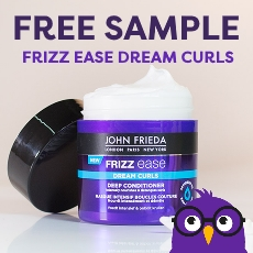 Free Sample - Frizz Ease Dream Curls Deep Conditioner