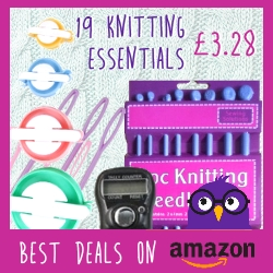 19 Knitting Essentials for £3.28