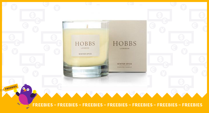 Hobbs scented candle