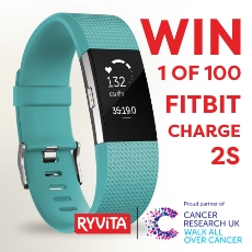 Win 1 of 100 Fitbit Carge 2S
