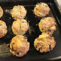 Jasmine's delicious scones!