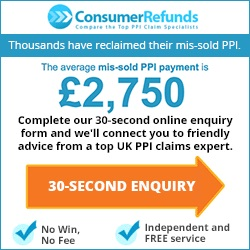 Get a free ppi enquiry from Consumer refunds
