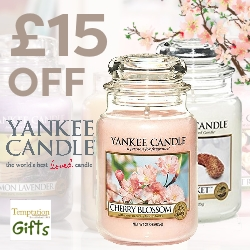 £15 off Yankee Candles