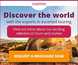 Cosmos travel brochure