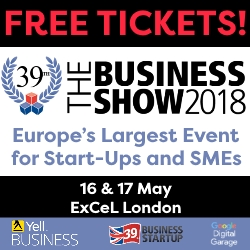 Free Tickets to The Business Show 2018