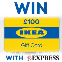 Win a £100 IKEA Gift Card with Express