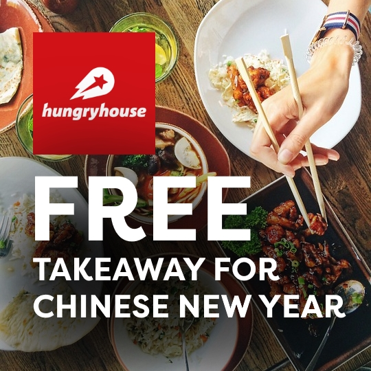Free Takeaway for Chinese New Year