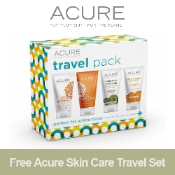 FREE Acure Skin Care Travel Set