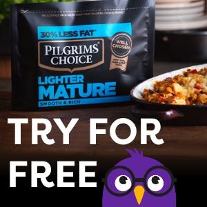 Free Pilgrims Choice Cheese Banner