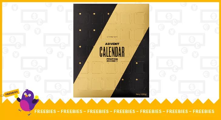 Protein chocolate calendar