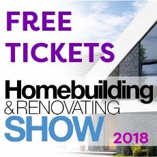 Free Tickets -Homebuilding & Renovating Show 2018
