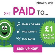 Inbox Pounds £1 Sign Up Bonus