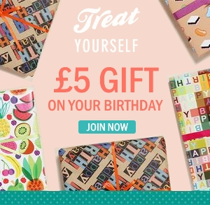 £5 birthday gift at Papercase