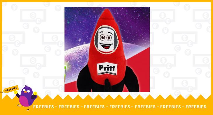 Pritt Rocket toy