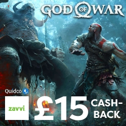 £15 off God Of War with Quidco
