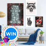 Win Your Choice of Framed Print