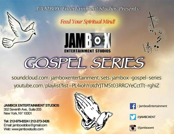 JAMBOX Gospel Sereies flyer