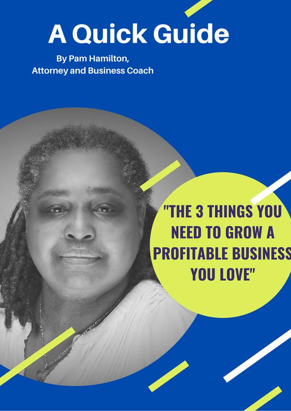 Pam Hamilton, Attorney & Business Coach