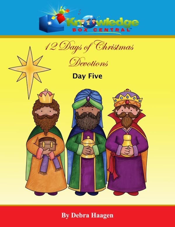 Knowledge@Kindle - 12 Days of Christmas Devotions Day 5 (FREEBIES)