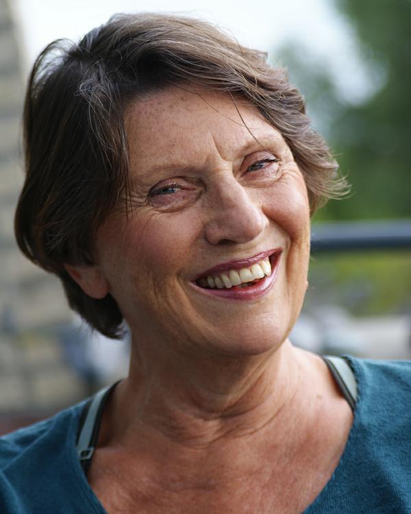 Marijke Sluijter, docent en auteur.