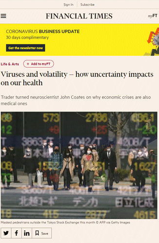Viruses and Volatility