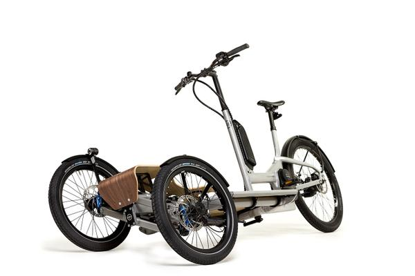 Heisenberg CD1 tilting electric cargo trike
