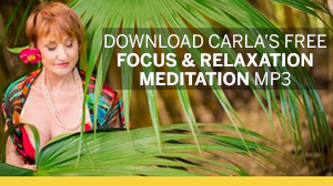 Download Carla's free Focus & Relaxation Meditation MP3