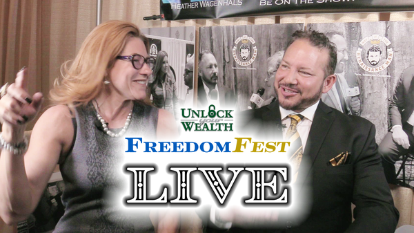 Join Heather Wagenhals Unlock Your Wealth TV at FreedomFest in July!