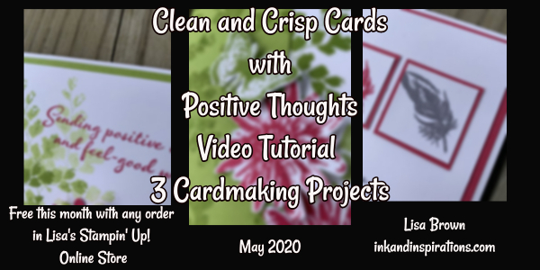 Free Mini Class with Any Order with Lisa in May 2020