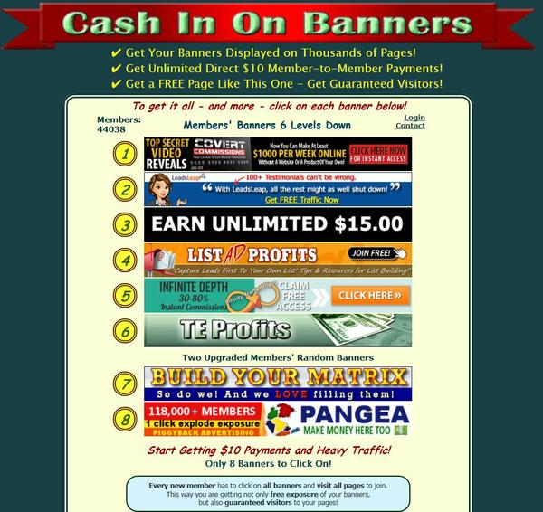 Cash In On Banners Viral Traffic Instant Payments.JPG