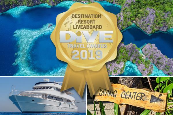 DIVE Travel Awards 2019