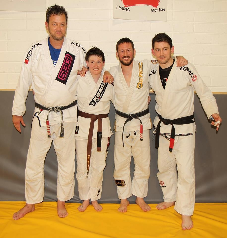 Ais getting her brown belt