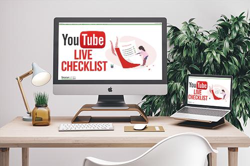 YouTube Live Checklist