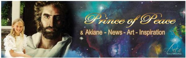 Prince of Peace and Akiane Banner