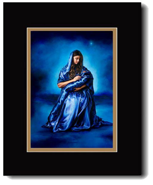 Mother Mary, Blessed Mother, Mothers Love by Akiane Kramarik