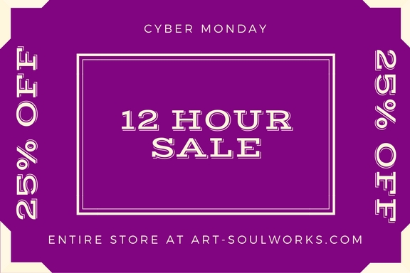 25% off 12 Hour Sale tag