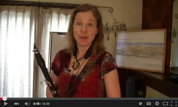 Link to video on clarinet habits and you can stay on track