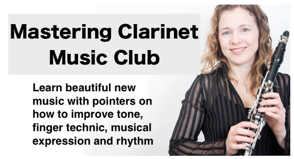 Link to register for Mastering Clarinet Music